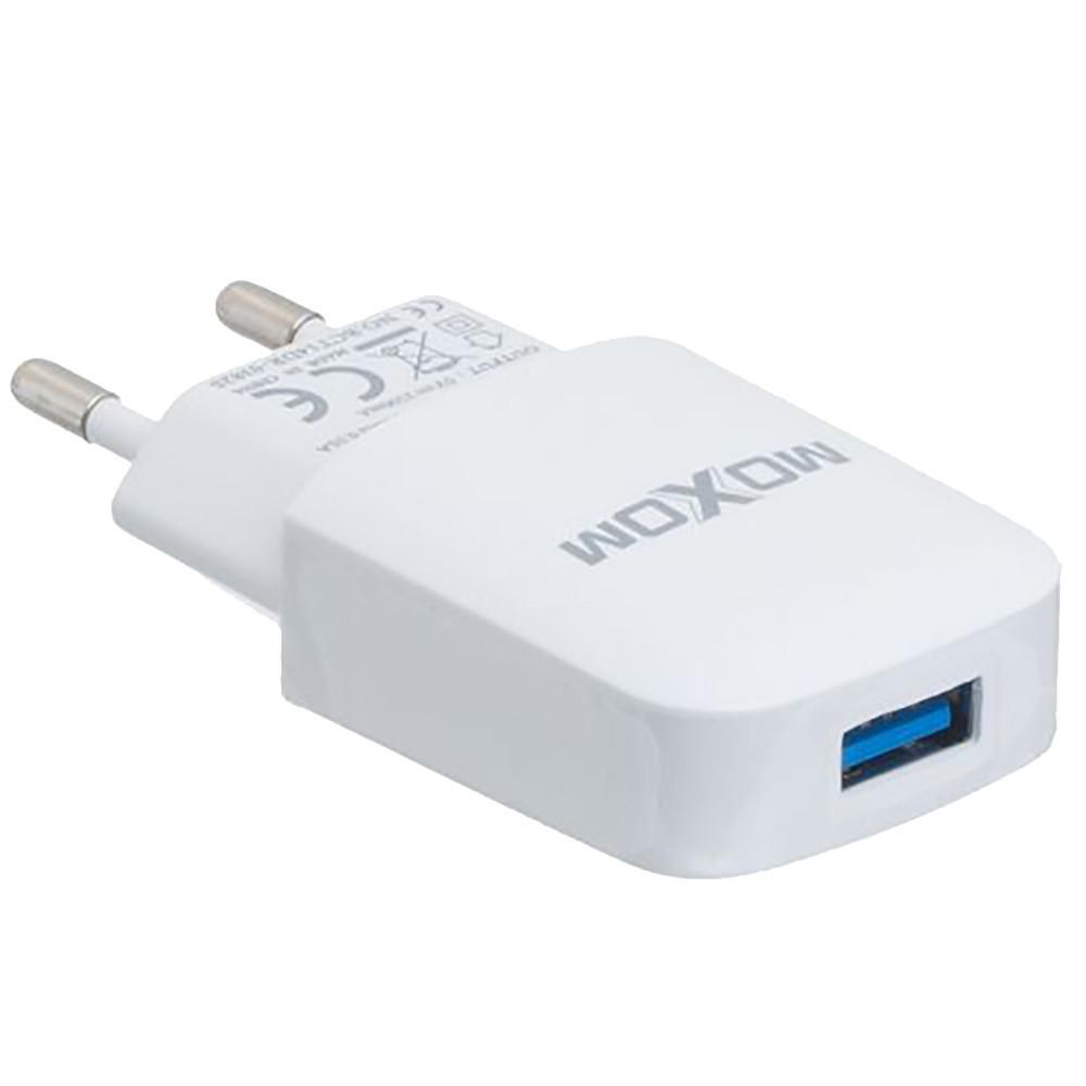 Сетевое зарядное устройство на 1 USB Moxom KH-06 Micro USB