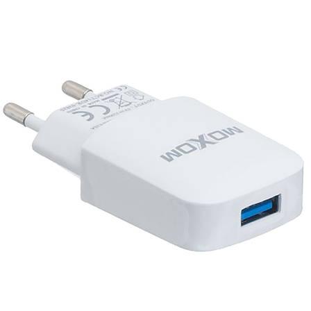 Сетевое зарядное устройство на 1 USB Moxom KH-06 Micro USB, фото 2