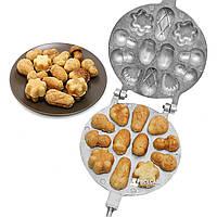 Форма для выпечки орешков - Орешница для ассорти (большая)