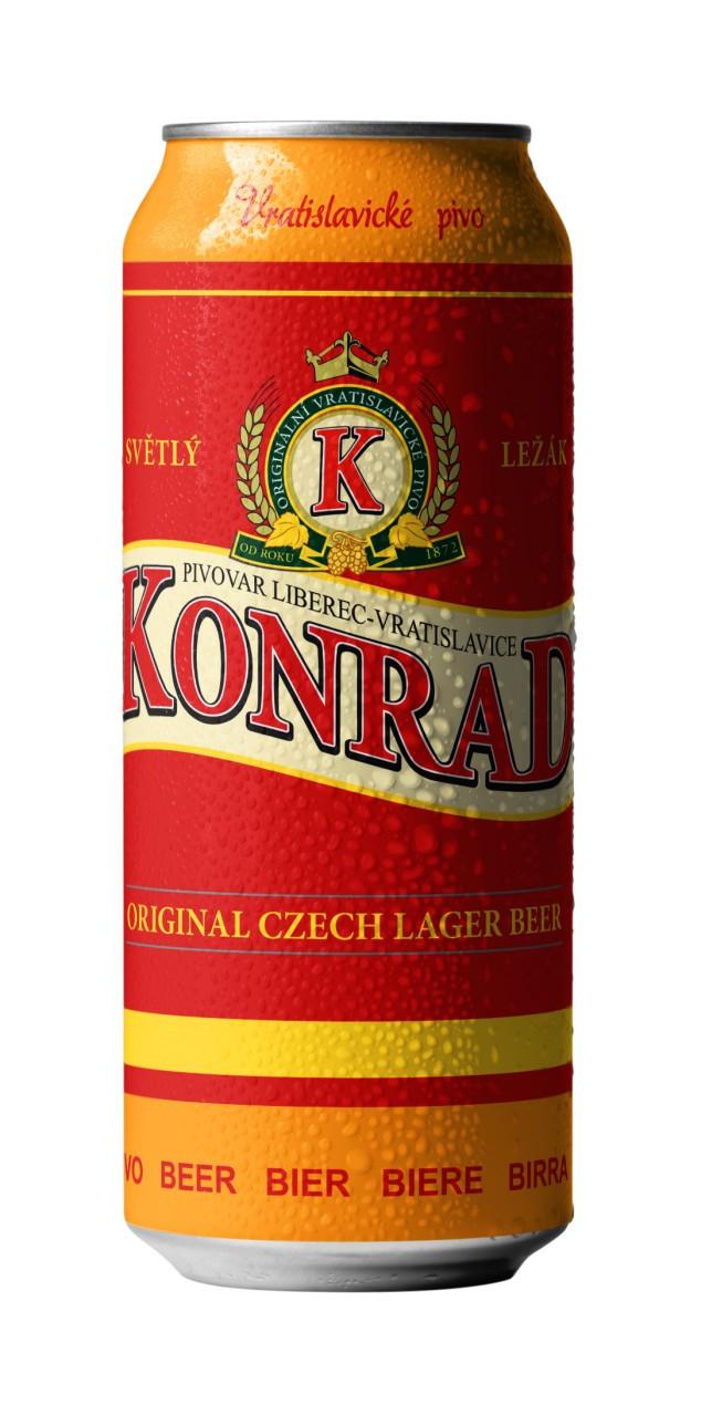 Чешское пиво Konrad