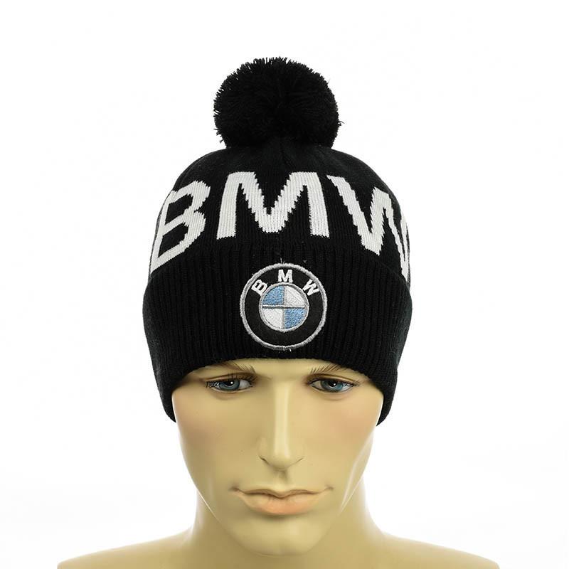 ● Шапка - BMW - с помпоном ●