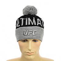 ● Шапка UFC - с помпоном ●, фото 1