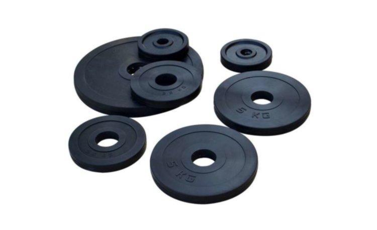 ОПТ. Диски обрезиненные для штанги RN-Sport 2.5 - 20 кг - 31 мм или 51 мм