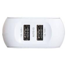 Сетевое зарядное устройство на 2 USB Moxom KH-44 Micro USB, фото 3