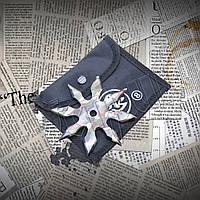 Метательная звезда-сюрикен 8 камуфляжная, восьмиконечная для тренировки