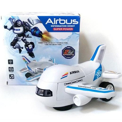 Робот самолет Airbus Deformation, робот-трансформер