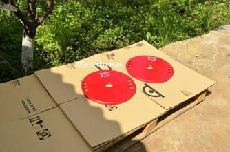 Диски стальные 2 по 15 кг - 31 или 51 мм