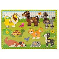Рамка-вкладыш деревянная MD 1187 (Домашние животные)