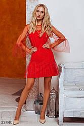Платье с блестящим декором| S|Lр.