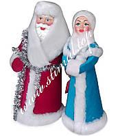 Дід Мороз та Снігуронька під ялинку (ціна за пару) ✓ Новорічні іграшки ✓ Дед Мороз и Снегурочка под ёлочку