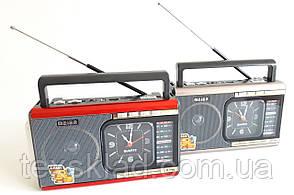 Радіо з годинником MEIER M-U40 (Ліхтарик/USB/Акумулятор)
