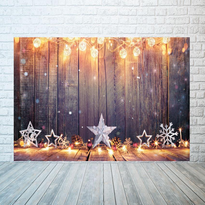 Новогодний баннер  Звезда  2х3 м