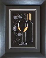 B2221 Бутылка с вином. Luca-S. Набор для вышивания нитками