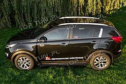 Пороги (бічні підніжки) Kia Sportage