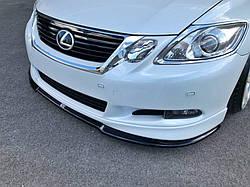 Дифузор переднього бампера Lexus GS 300 Mk3 Facelift вер.2