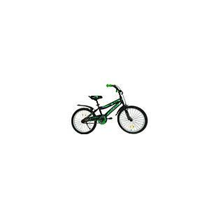 Велосипед 20  Remmy ROKY черно-зеленый матовий