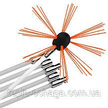 Набір для чищення димоходу HANSA TORNADO роторний (10 ручок ), фото 2