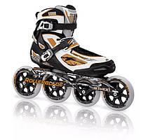 Беговые скоростные профессиональные ролики Rollerblade Tempest 110 (13/30/46)