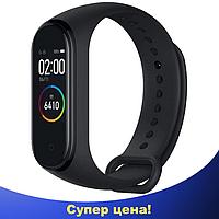 Фитнес браслет Smart Watch M4 - фитнес трекер, смарт браслет, пульсометр Черный (реплика)
