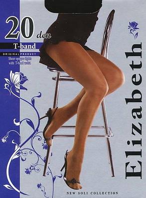 Колготки Elizabeth 20 den t-band Nero р.3 (00115) | 5 шт., фото 2