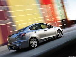 Спойлер на кришку багажника Mazda 3 Sedan
