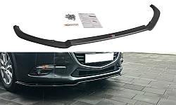 Дифузор переднього бампера Mazda 3 BM (Mk3) Facelift вер.1