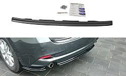 Центральний дифузор заднього бампера Mazda 3 BM (Mk3) (без вертикальних ребер)