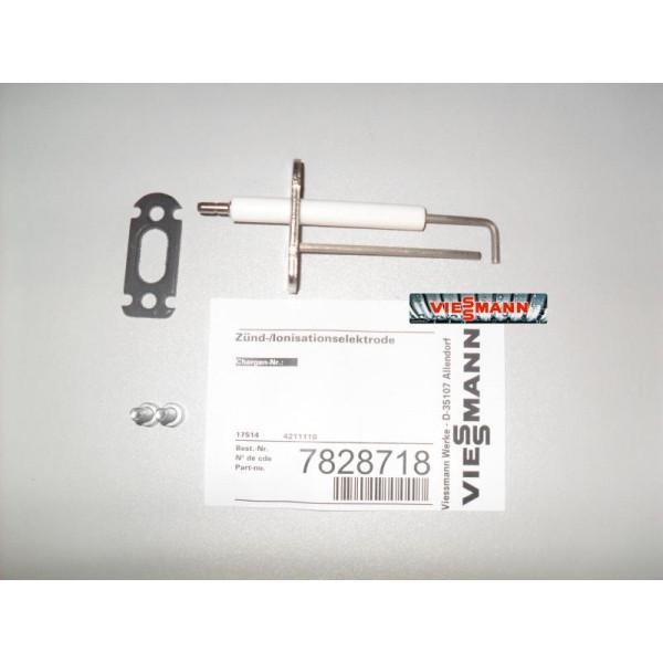 Электрод розжига и ионизации Viessmann Vitodens WB1C, WB1B - 7828718