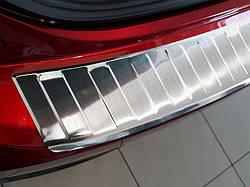 Захисна накладка на бампер Mazda 3 Hatchback