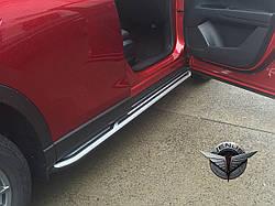Пороги (подножки боковые) Mazda CX5 II