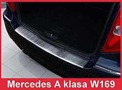 Накладка на бампер з загином Mercedes A W169