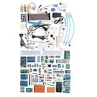 Geekcreit® EU Plug UNO Mega Nano Датчик Реле Bluetooth Wifi LCD Наборы для начинающих для Arduino № Батарея версии-1TopShop