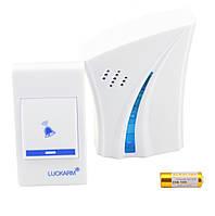 Беспроводной дверной звонок Luckarm Intelligent D8610 Blue, фото 2 Беспроводной дверной звонок Luckarm Intell