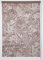Готовые рулонные шторы 350*1500 Ткань Софи Коричневый