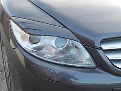 Реснички (накладки на фары) Mercedes CL W216
