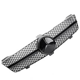 Решетка радиатора Mercedes W219 CLS стиль AMG с черной звездой рест.