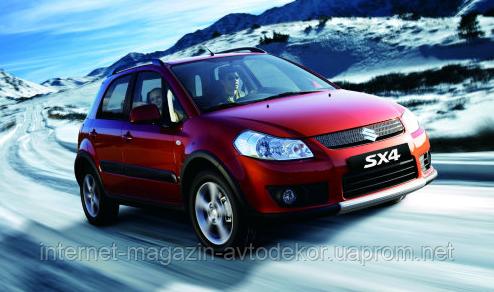 Брызговики модельные Suzuki SX4 2008-12г. (Лада Локер)