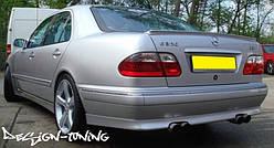 Спойлер / липспойлер Mercedes W210