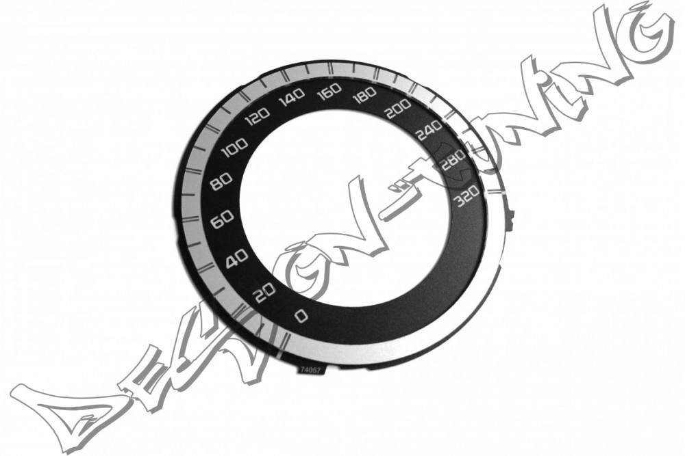 Шкала-замінник миль на кілометри Mercedes AMG GLK X204 , CLS W218, W212 E, C W204