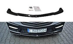Диффузор переднего бампера MERCEDES-BENZ E63 AMG W212 вер.1