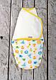 Євро пелюшка на липучках з шапочкою Half, Льова і До 3-6 міс, фото 7