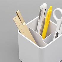 Xiaomi LEMO Desktop Органайзер 3 в 1 ABS Пластик Белый Хранение Коробка Карточка Ручка - 1TopShop, фото 3