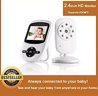 Беспроводная Видеоняня Baby Monitor 2.4 с ночным видением