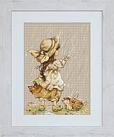 B1077 Летний дождь. Luca-S. Набор для вышивания нитками