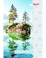 Ежедневник 176 л., 130 х 190 ДЕКОР «Естественная структура»