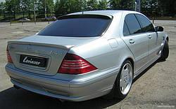 Спойлер кришки багажника Mercedes W220
