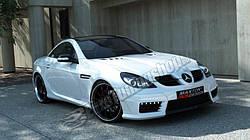 Накладки на пороги Mercedes SLK R171