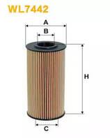 Масляный фильтр WL7442 WIX FILTERS
