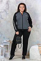 "Спортивный костюм женский артикул:696 (50-52, 54-56, 58-60) ""ALIKA"" недорого от прямого поставщика"