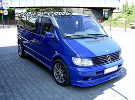 Реснички (накладки на фары) Mercedes Vito 1 W638